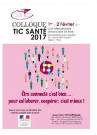 Participation de Maître Lina WILLIATTE (Avocat Droit de la Santé - Lille) au Colloque TIC SANTE des 1er et 2 février 2017